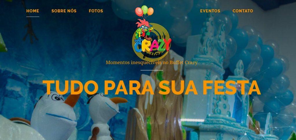 Conheça o Buffet Crazy Festas